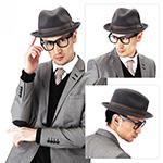 Шляпа BAILEY арт. 7001 TINO (серый)